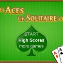 Aces Up Solitaire Flash Game