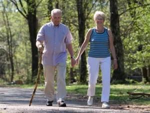 Activities for seniors - walking or hiking