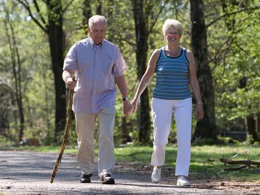 Activities for seniors - walking or hiking