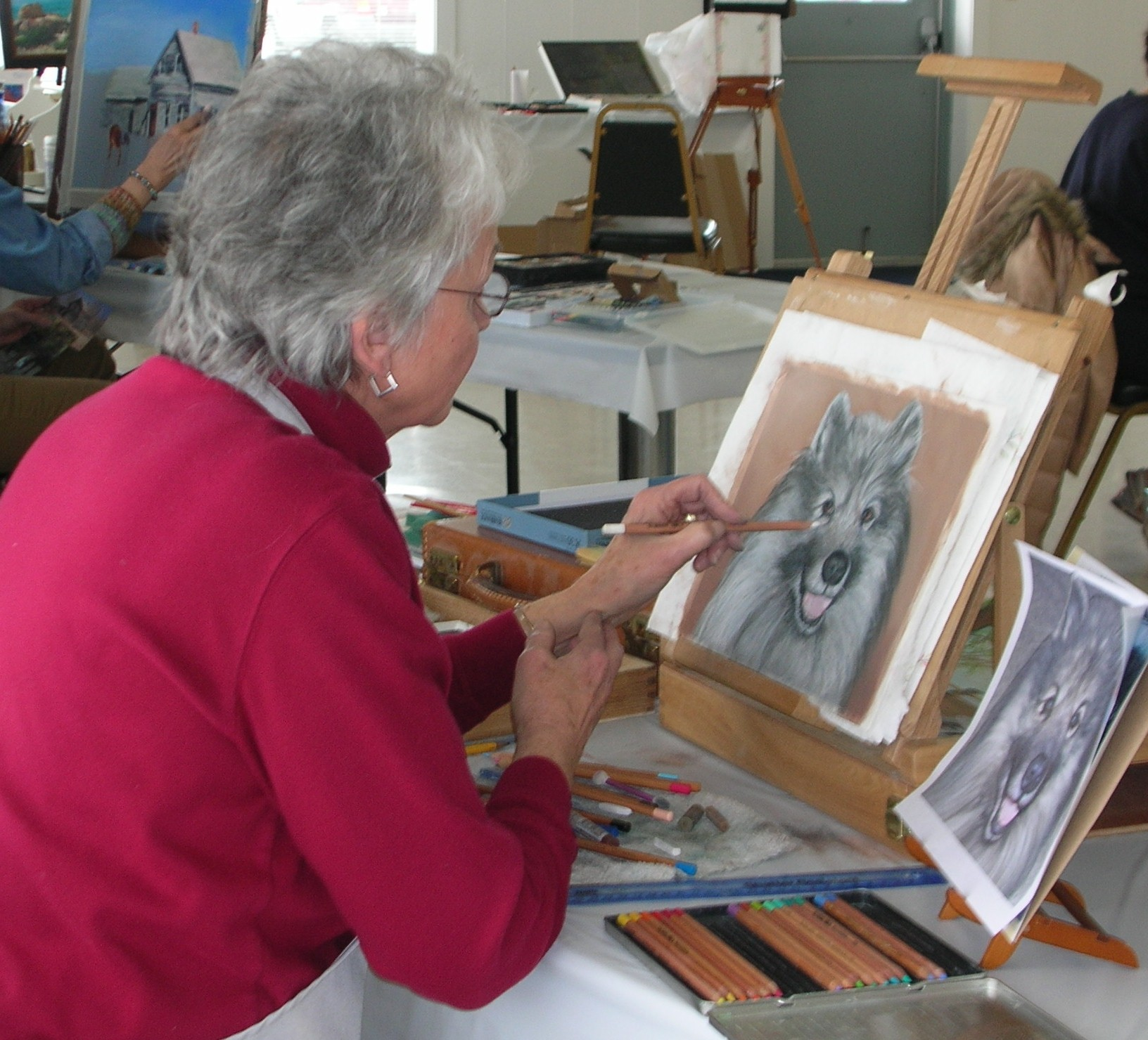 Indoor activities for seniors senior painting activities for Craft ideas for senior citizens