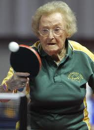 Indoor Ping Pong Table Tennis for Seniors - Never too late