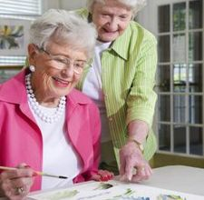 Arts-and-Crafts-for-Seniors-Senior-painting