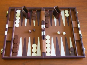 Backgammon Brain Games for Seniors Backgammon Set