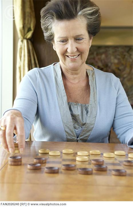 Checkers | Brain Games for Seniors - Activities For Seniors