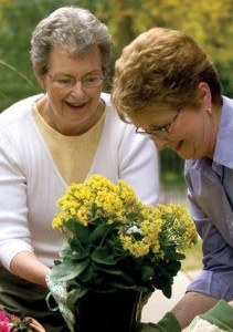 Senior Women Enjoying Gardening | Activities for Seniors