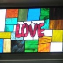 Faux Stained Glass as Activities for Seniors