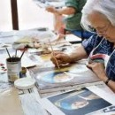 Painting One Of The Helpful Activities For Seniors