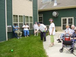Activities For Seniors - Picninc Games - Bean Bag Toss
