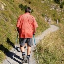 Using Walking Poles for Uphill and Downhill