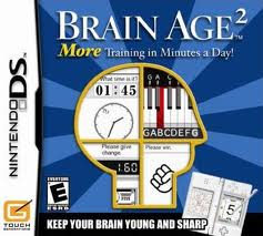 Nintendo DS Gages - games for seniors - Brain Age