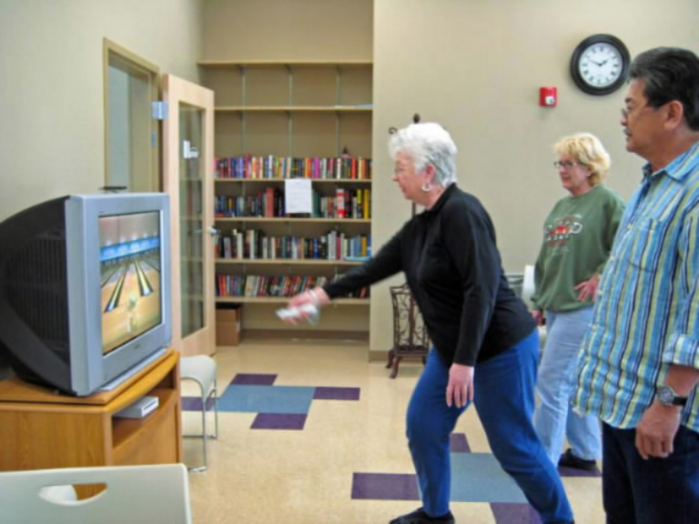 Wii Sports For Seniors Activities For Seniors