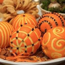 Attractive Pomanders - christmas ornament decorations