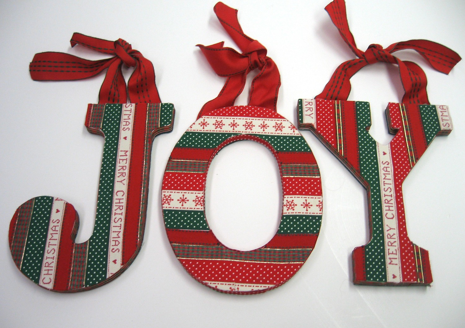 excellent idea about wooden letters - Wooden Christmas Crafts