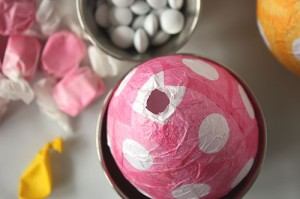 How To Make Paper Mache Easter Eggs 2