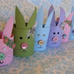 How to Make Cardboard Easter Bunny | Easter Craft Ideas