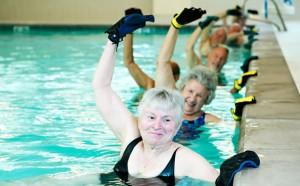 water exercises for seniors