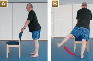 balance exercise for seniors