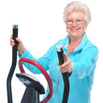 Exercising for Seniors - gyming equipments